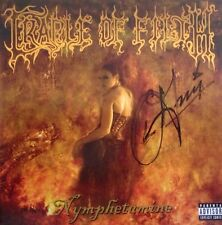 Cradle Of Filth - Nymphetamine Signed Autographed Cd