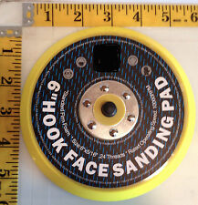Neiko VELCRO® backed  6 in sanding polishing pad with 5/16-24 TPA for DA sander