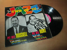 PEE WEE RUSSEL & PEE WEE HUNT the two of us and jazz EMBER Lp 1963