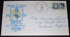 USS MARIANO G. VALLEJO MARE ISLAND SHIPYARD KEEL LAYING JULY 7, 1964 COVER