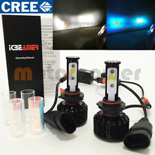 H10 9145 9140 CREE COB LED 6000K White 10000K Blue All in One Kit #Gr1 Fog Light