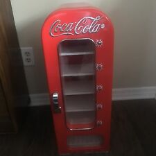 Retro Coca Cola Vending Machine Cooler Mini Refrigerator Office Not Working