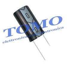 Condensatore elettrolitico 100uF 100V 105° 2 pezzi CE-100UF-100