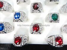 US Seller - 15 rings wholesale jewelry lot rhinestone vintage retro bulk fashion