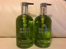Molton Brown 2 x 300ml Wondrous Myrrh Musk & Cypress Hand Wash BRAND NEW