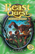 Claw the Giant Monkey (Beast Quest - The Golden Armour), Blade, Adam, Very Good
