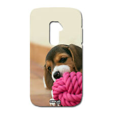 CUSTODIA COVER CASE CANE MORDE BEAGLE PER LG OPTIMUS G2 MINI D620