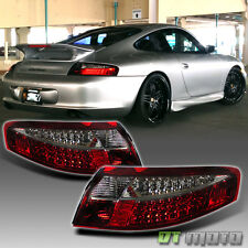 1999-2004 Porsche 911 996 Carrera LED Tail Lights Red Smoke Lamps Left+Right Set