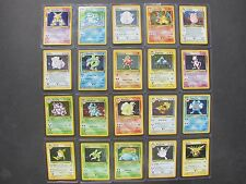 Pokemon COMPLETE BASE SET 2 HOLOS ONLY 130 - CHARIZARD BLASTOISE VENUSAUR