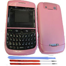 Blackberry 8900 Curve Housing Battery Cover Fascia Keypad Baby  Pink + Tools