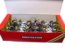 Britains Deetail 7th Cavalry - 18 Figures - 1st vers # 7489 mint in counter pack