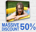 Your PHOTO/PICTURE on a LARGE A2 BOX canvas print PERSONALISED FRAMED 40MM 24x16