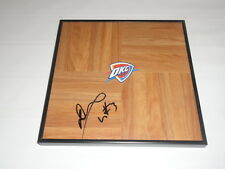 DION WAITERS SIGNED FRAMED 12X12 FLOORBOARD OKLAHOMA CITY THUNDERS