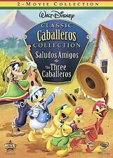 Disney's Classic Collection: SALUDOS AMIGOS + THREE CABALLEROS 2 Movie DVD 2008