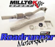 "Milltek SSXAU312 Golf GTI MK5 Exhaust 3"" LargeBore Downpipe & Sport Cat 200 Cell"