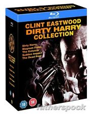 DIRTY HARRY COLLECTION [Blu-ray 5-Disc Set] Clint Eastwood Complete All 5 Movies