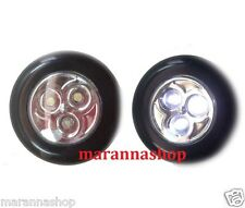 SPOTLIGHT A LED ROUND A BATTERY WITH STICKER STICK LAMP FOR CLOSET WORKSHOP