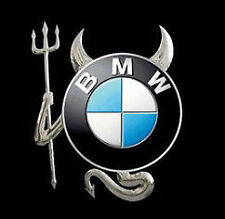 CAR DEVIL 3D STICKER DECAL PACK UNIVERSAL FIT (UK SELLER) fits BMW CAR BADGE +++