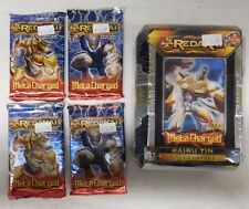 REDAKAI METACHARGED KAIRU TIN + 4 Metacharged Booster Packs - Lot G - NIP