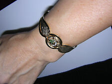 Bangle RARE Curvy Brushed Gold BRACELET Daughters REBEKAH IOOF Women's vintage