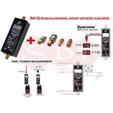 SW-33 100-520 Mhz MINI DIGITAL VHF/UHF WATTMETRO  & SWR METER