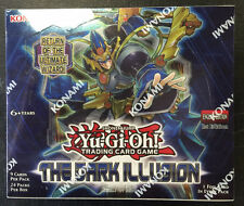 Yugioh The Dark Illusion 1st Edition Factory Sealed Booster Box
