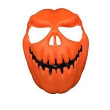 Pumpkin Head Halloween Mask Orange Halloween Party Dress up