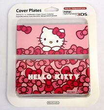 Official Nintendo Hello Kitty New 3DS Faceplate Cover Plate Rare EU Exclusive!