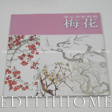 Chinese Sumi-E Painting Book Learn How to Draw Plum Flower 55P (Free Shipping)