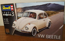 Revell Germany Volkswagen VW Beetle Plastic model Car kit #07681 1/32