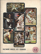 Baltimore Orioles 1971 Official Team Yearbook