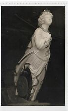"SHIP'S FIGUREHEAD OF ""EL-PRIMO"", VALHALLA: Scilly Isles postcard (C10525)"