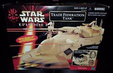 STAR WARS TRADE FEDERATION TANK EPISODE 1 PHANTOM MENACE NEW RARE VEHICLE 1999