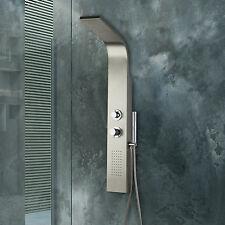 Pannello doccia idormassaggio colonna completa di miscelatore termostatico nuovo