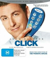 Click (Blu-ray, 2006)EX RENTAL NOTE DISC ONLY I CAN POST 4 DISCS FOR $1.40