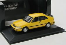SAAB 9-3 Coupe (2001) giallo/Minichamps 1:43