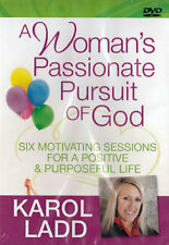NEW Sealed Bible Study 2-DVD Set! Woman's Passionate Pursuit of God - Karol Ladd