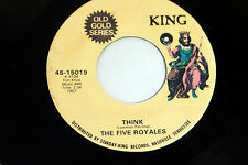 Five Royales: Think / Dedicated to the One I Love  [NEW & Unplayed]