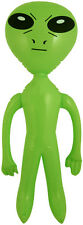 64cm Inflatable Green Alien Party UFO Space Ship Accessory Dress Up Prop Fun UK