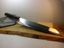 OLD/CUSTOM-MADE: Japanese Kitchen knife/Thick Kiritsuke 280 /460mm/  8gon