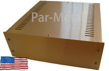 HiFi DIY Audio pre amp chassis / table top enclosure / Instrument Case 20-12124A