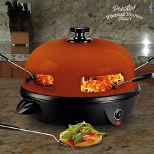 Presto! Electric Mini Pizza Oven, Home Cooking Pizzas, Kitchen Non-Stick Baking