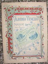 U260-BELLUNO-AGORDO FRASSENE' ALBERGO VENEZIA