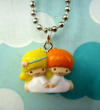 Sanrio Little Twin Stars Charm Necklace- Hello Kitty Charm Pendant