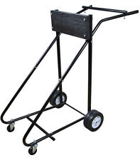 315 lb Outboard Boat Trolling Motor Stand Carrier Cart Dolly Storage Heavy Duty