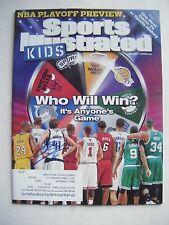 DIRK NOWITZKI signed MAVERICKS 2011 Sports Illustrated Kids basketball magazine