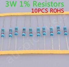 3W High quality Metal Film Resistors150K ohm 1% ROHS 10pcs