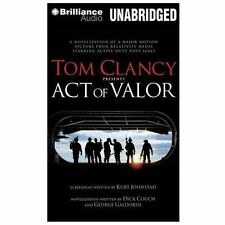 ACT OF VALOR unabridged audio book on CD by TOM CLANCY