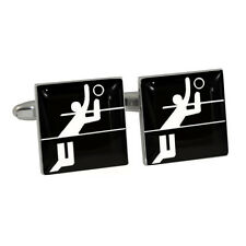 Volleyball Olympic Sign Cufflinks Gift Boxed fivb volley ball Sports Symbol NEW