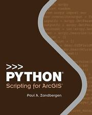 2DAY SHIPPING | Python Scripting for ArcGIS, PAPERBACK, Paul A. Zandbergen